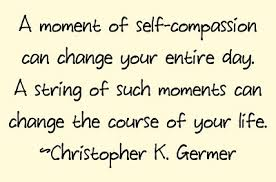string of self compassion image